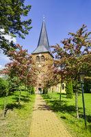 Church Flatow, Kremmen, Brandenburg, Germany