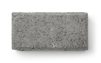 Top view of concrete sand brick