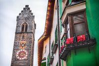 Vipiteno Alto Adige region local landmarks of Italy - the Torre delle Dodici or Zwolferturm