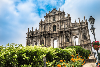 The Ruins of St. Paul's in Macau, China.