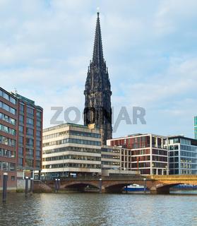 St. Nicholas church Hamburg Germany