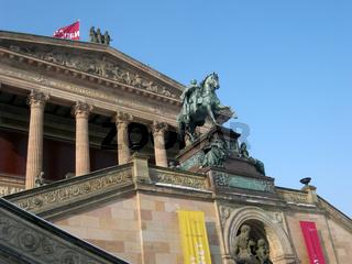 Detail Alte Nationalgalerie