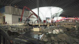 Attraction RC Challenge in the theme park Ferrari World Abu Dhabi