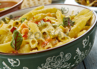 Cheesy Tex Mex Chicken Penne