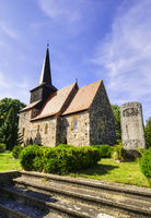 Church Metzelthin (Wusterhausen/Dosse), Brandenburg, Germany