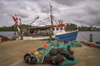 At the fishing port of Kappeln (Schleswig-Holstein)