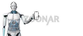 Humanoid Robot Smartphone
