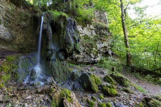 Tannegger Wasserfall in der Wutachschlucht im Schwarzwald