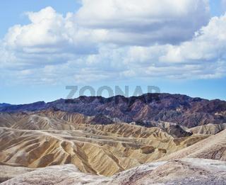 Zabriskie Point in Death Valley National Park , California