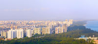 Singapore living districts skyline sea