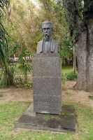 Bust of Antonio Borges in the park named after him