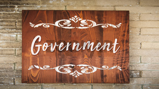 Street Sign to Government