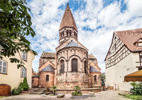 Church of Saint Faith of Selestat is a major Romanesque architecture landmark in Selestat