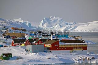 Gigantische Eisberge vor Ilulissat