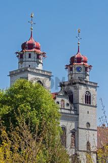 Klosterkirche St. Maria, Rheinau Schweiz, Kanton Zürich