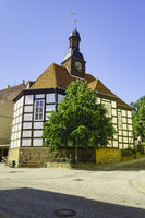 Concert hall in St. Georg, Bad Freienwalde, Brandenburg, Germany