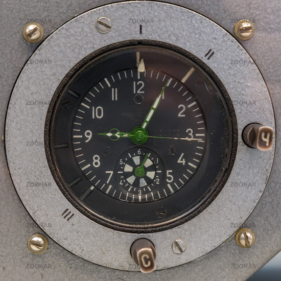 Dashboard watch of the Soviet spacecraft