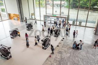 interior of Taipei Fine Art Museum