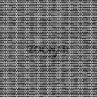 Brick Wall Background. Abstract Grey Brick Pattern