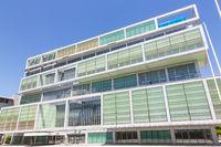 Modern building of Slovenian Chamber of Commerce in Ljubljana, Slovenia, Europe.