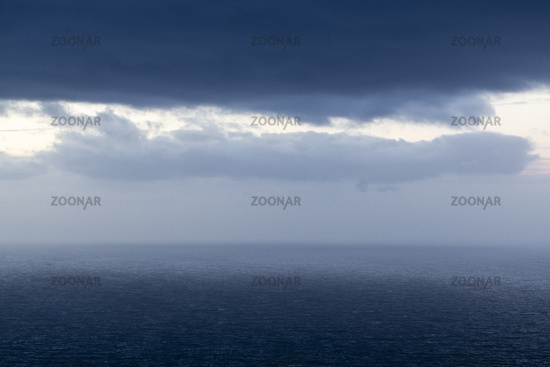 Stormy weather, Barents Sea, Finnmark, Norway