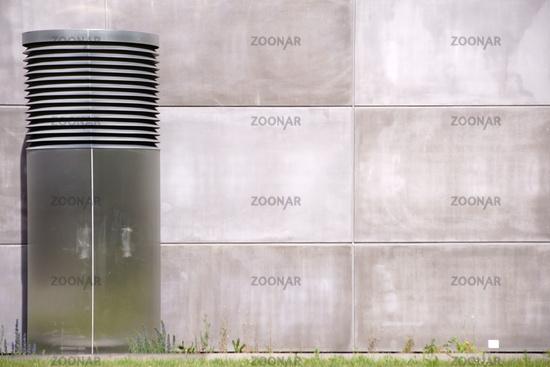 Corrosion-free large ventilation hood