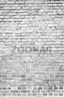 Old worn brick wall