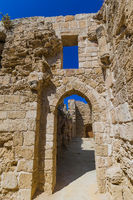 Othello castle in Old town of Famagusta - Northern Cyprus