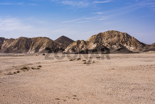 Mountains in Ras Al Jinz, Oman