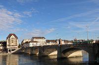 Basel Switzerland Europe Bridge