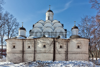Church of the Protection of the Theotokos in Rubtsovo, Moscow, Russia