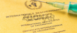 An international certificate of vaccination