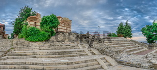 Ancient theatre in Nessebar, Bulgaria