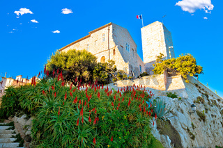 Antibes church on the rock view