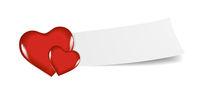 Banner Hearts Valentine