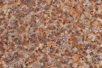 Vintage vivid rust stained corroded metal surface