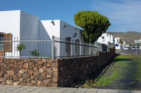 Vacation homes in Arrieta on the island of Lanzarote.