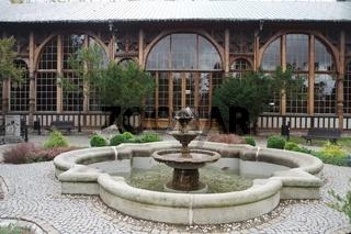 Historische Kurhalle in Bad Flinsberg, Swieradow Zdroj
