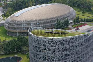 Tianfu International Finance Center buildings in Chengdu - China