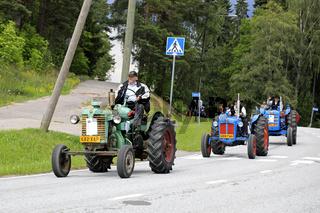 Kimito Tractor Cavalcade 2018