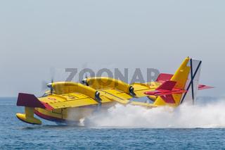 Seaplane Canadair CL-415