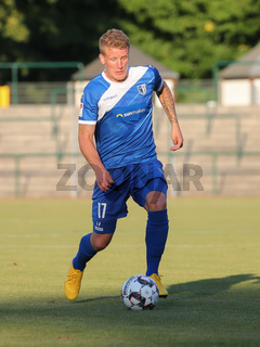 Richard Weil  (1.FC Magdeburg) beim Testspiel SSV Markranstädt gegen 1.FC Magdeburg am 25.07.2018