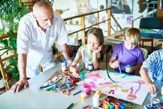 Art Class in School