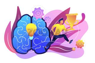 Motivation concept vector illustration.