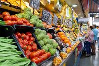 Atarazanas Market in Malaga, Spain