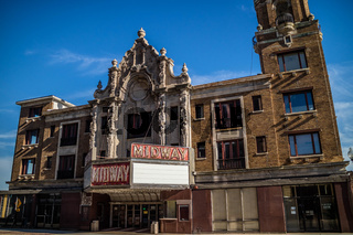 A movie house equipped with Moller pipe organ in Rockford