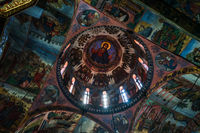 The Bachkovo Monastery of the Dormition of the Theotokos. Dome of the Cathedral