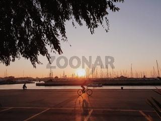 Rimini Sunset Port