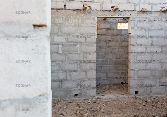 Building a new house for tourism - Madagascar