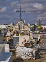 Old Christian Graveyard at La Mancha